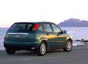 Фото авто Ford Focus 1 поколение, ракурс: 225 цвет: зеленый