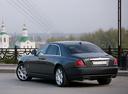 Фото авто Rolls-Royce Ghost 1 поколение, ракурс: 135 цвет: черный