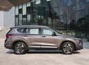 Фото авто Hyundai Santa Fe TM, ракурс: 270 цвет: коричневый