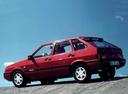 Фото авто ВАЗ (Lada) 2109 1 поколение [рестайлинг], ракурс: 135 цвет: вишневый