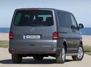 Фото авто Volkswagen Multivan T5 [рестайлинг], ракурс: 225 цвет: серый