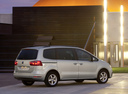 Фото авто SEAT Alhambra 2 поколение, ракурс: 225 цвет: серебряный