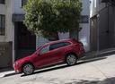 Фото авто Mazda CX-9 2 поколение, ракурс: 90 цвет: красный