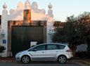 Фото авто Ford S-Max 1 поколение [рестайлинг], ракурс: 90 цвет: серебряный