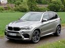 Фото авто BMW X5 M F85, ракурс: 45 цвет: серый