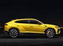 Фото авто Lamborghini Urus 1 поколение, ракурс: 270 цвет: желтый