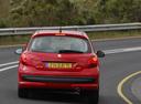Фото авто Peugeot 207 1 поколение, ракурс: 180 цвет: красный