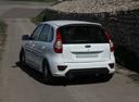 Фото авто ВАЗ (Lada) Kalina 2 поколение, ракурс: 135 цвет: белый
