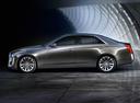 Фото авто Cadillac CTS 3 поколение, ракурс: 90 цвет: серый
