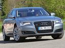 Фото авто Audi A8 D4/4H, ракурс: 315 цвет: серый