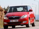 Фото авто Skoda Fabia 5J [рестайлинг],  цвет: красный