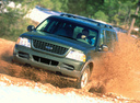 Фото авто Ford Explorer 3 поколение,  цвет: зеленый