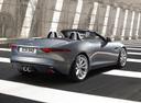 Фото авто Jaguar F-Type 1 поколение, ракурс: 225 цвет: серый