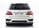 Фото авто Mercedes-Benz M-Класс W166, ракурс: 180 цвет: серебряный
