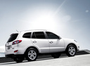Фото авто Hyundai Santa Fe CM [рестайлинг], ракурс: 225 цвет: белый