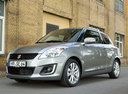 Фото авто Suzuki Swift 4 поколение [рестайлинг], ракурс: 45 цвет: серый