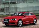 Фото авто Audi A3 8V, ракурс: 45 цвет: красный