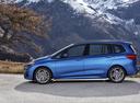 Фото авто BMW 2 серия Active Tourer F45 [рестайлинг], ракурс: 90 цвет: синий