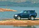Фото авто Mitsubishi Pajero 4 поколение, ракурс: 90 цвет: синий