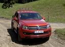 Фото авто Volkswagen Amarok 1 поколение,  цвет: оранжевый