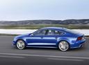 Фото авто Audi S7 4G [рестайлинг], ракурс: 90 цвет: синий