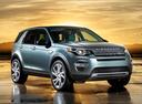 Фото авто Land Rover Discovery Sport 1 поколение, ракурс: 315 цвет: серый