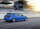 Фото авто Audi RS 3 8VA [рестайлинг], ракурс: 225 цвет: синий