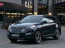 Фото авто Hyundai Santa Fe DM, ракурс: 45 цвет: черный