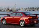 Фото авто Mitsubishi Lancer X, ракурс: 135 цвет: красный