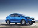 Фото авто Renault Logan 2 поколение, ракурс: 315 цвет: синий