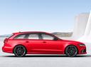Фото авто Audi RS 6 C7 [рестайлинг], ракурс: 270 цвет: красный