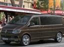 Фото авто Volkswagen Caravelle T6, ракурс: 45 цвет: коричневый
