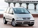 Фото авто Volkswagen Sharan 1 поколение [рестайлинг], ракурс: 315
