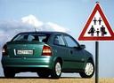 Фото авто Opel Astra G, ракурс: 225 цвет: зеленый