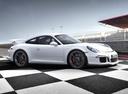 Фото авто Porsche 911 991, ракурс: 270 цвет: белый