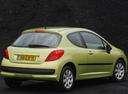 Фото авто Peugeot 207 1 поколение, ракурс: 225 цвет: салатовый