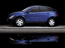 Фото авто SsangYong Actyon 1 поколение, ракурс: 90 цвет: синий