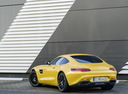 Фото авто Mercedes-Benz AMG GT C190 [рестайлинг], ракурс: 135 цвет: желтый