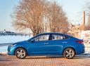 Фото авто Hyundai Solaris 2 поколение, ракурс: 90 цвет: синий