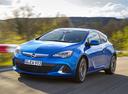 Фото авто Opel Astra J [рестайлинг], ракурс: 45 цвет: голубой
