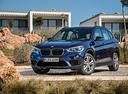 Фото авто BMW X1 F48, ракурс: 45 цвет: синий