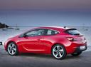 Фото авто Opel Astra J [рестайлинг], ракурс: 90 цвет: красный