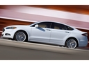 Фото авто Ford Mondeo 5 поколение, ракурс: 90 цвет: белый