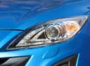 Фото авто Mazda Axela BL, ракурс: передние фары