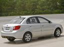 Фото авто Kia Rio 2 поколение [рестайлинг], ракурс: 225 цвет: серебряный
