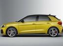 Фото авто Audi A1 2 поколение, ракурс: 90 - рендер цвет: желтый