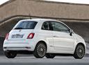 Фото авто Fiat 500 2 поколение [рестайлинг], ракурс: 225 цвет: белый