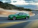 Фото авто Audi RS 5 F5, ракурс: 90 цвет: зеленый
