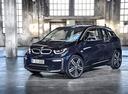 Фото авто BMW i3 I01 [рестайлинг], ракурс: 45 цвет: синий
