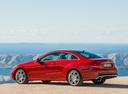 Фото авто Mercedes-Benz E-Класс W212/S212/C207/A207 [рестайлинг], ракурс: 135 цвет: красный